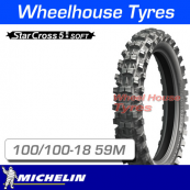 100/100-18 59M Michelin Starcross 5 Soft