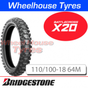110/100-18 X20 Bridgestone Battlecross Soft/Med