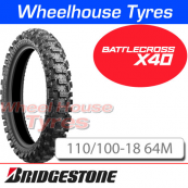 110/100-18 X40 Bridgestone Battlecross Med/Hard