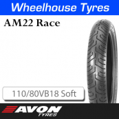 110/80VB18 AM22 Soft Rear Avon Race 12116C