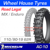 110/90-19 Michelin AC10 Enduro Rear