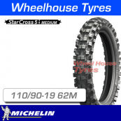 110/90-19 62M Michelin Starcross 5 Medium