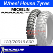 120/70R19 60R Anakee Wild Michelin TL Front