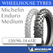 120/90-18 65R Michelin Enduro Medium F.I.M. Rear