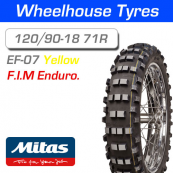 120/90-18 71R Yellow Super Mitas EF-07 F.I.M