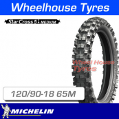 120/90-18 65M Michelin Starcross 5 Medium