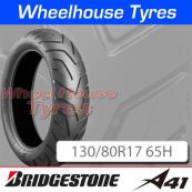 130/80R17 65H A41 Bridgestone T/L Rear