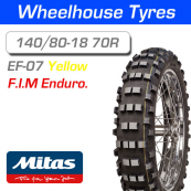 140/80-18 70R Yellow Super Mitas EF-07 F.I.M