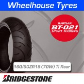 160/60ZR18 (70W) Bridgestone BT021 TL