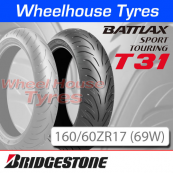 160/60ZR17 (69W) T31 Bridgestone T/L Rear