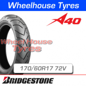 170/60R17 72V A40 Bridgestone T/L Rear