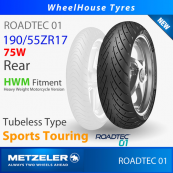 190/55ZR17 (75W) - Roadtec 01 (HWM) Metzeler T/L - Rear