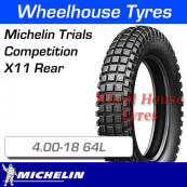 4.00-18 64L Michelin Trial Comp X11 Tubeless Rear