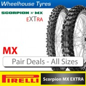 Pirelli MX Extra (X) Tyres - Pair Deal