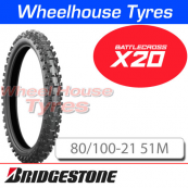 80/100-21 X20 Bridgestone Battlecross Soft/Med