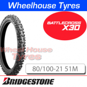 80/100-21 X30 Bridgestone Battlecross Soft/Med TT NHS