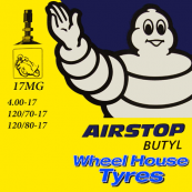 Michelin Tube 4.00, 120/70, 120/80-17
