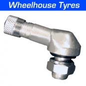 8.3mm Alloy Angled Valve Bright Silver