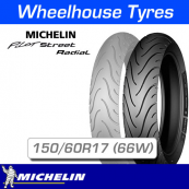 150/60ZR17 (66W) Michelin Pilot Street Rear T/L