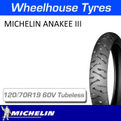 120/70R19 60V Anakee 3 Front Tubeless Michelin