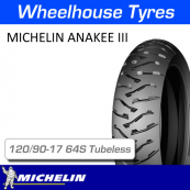 120/90-17 64S Anakee 3 Rear Tubeless Michelin