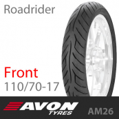 110/70-17 AVON Roadrider AM26 54V Front