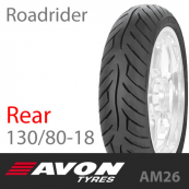 130/80-18 AVON Roadrider AM26 66V Rear