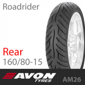 160/80-15 AVON Roadrider AM26 74V Rear