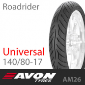 140/80-17 AVON Roadrider AM26 69V Universal