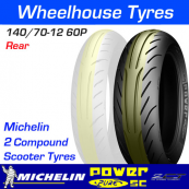 140/70-12 60P Michelin Power Pure SC TL Rear
