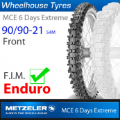90/90-21 (54M) Metzeler MCE 6 Day Extreme (MS)
