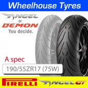 190/55ZR17 (75W) (A) Spec Pirelli Angel GT TL