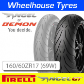 160/60ZR17 (69W) Pirelli Angel GT TL