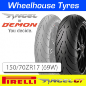 150/70ZR17 (69W) Pirelli Angel GT TL