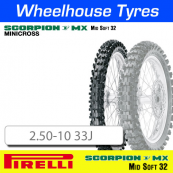 2.50-10 33J MX32 Mid Soft Pirelli Scorpion NHS