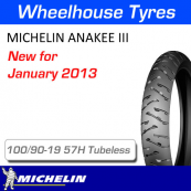 100/90-19 57H Anakee 3 Front Tubeless Michelin