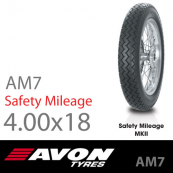 4.00-18 Avon AM7 Safety Mileage MKII 64S TT