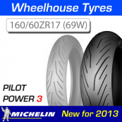 160/60ZR17 (69W) Pilot Power 3 Michelin T/L