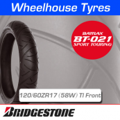 120/60ZR17 (55W) Bridgestone BT021 TL