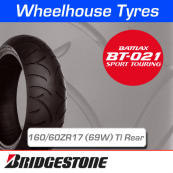 160/60ZR17 (69W) Bridgestone BT021 TL