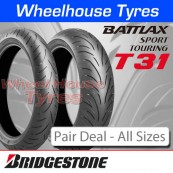 Bridgestone Battlax T31 & T31 GT Pair Deal - All Sizes