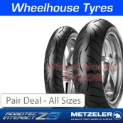 Metzeler Roadtec Z8 Interact Pair Deal - All Sizes
