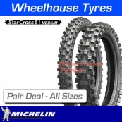 Michelin Starcross 5 Medium - Pair Deal