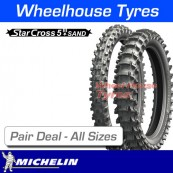 Michelin Starcross 5 Sand - Pair Deal