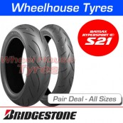 Bridgestone Battlax S21 Pair Deal - All Sizes