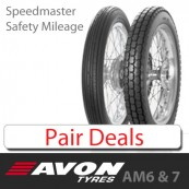 Avon Speedmaster / Safety Mileage - Pair Deals
