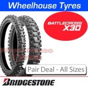 Bridgestone Battlecross X30 Pair Deal - All Sizes