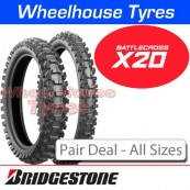 Bridgestone Battlecross X20 Pair Deal - All Sizes