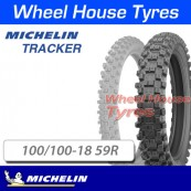 100/100-18 59R Tracker Michelin TT Rear