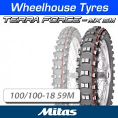 100/100-18 59M Terra Force MX SM TT Rear Mitas (N.H.S)